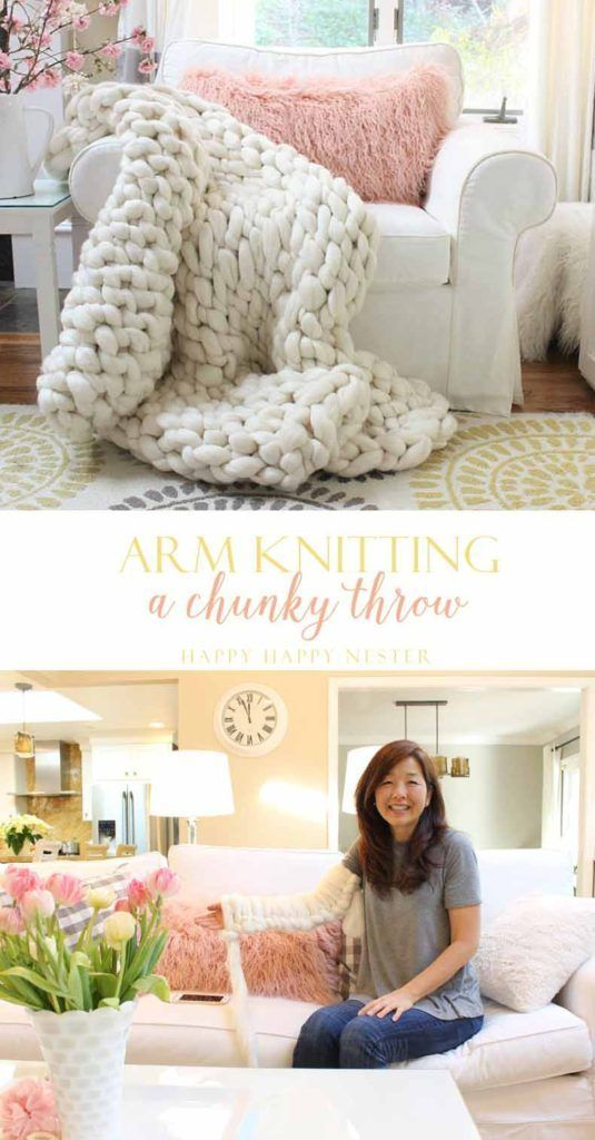 Arm knit this chunky wool throw. Answers to the frequently asked questions about arm knitting a blanket. You can be knitting within minutes with the resources I provide.DIY knitting help and tips and which tutorial videos are the best.