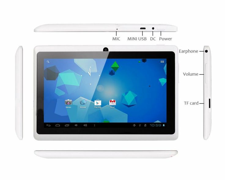 LoveSeven Android 4.0 4GB MID Capacitive Touch Screen A13 Q88 Tablet WiFi 3G-White