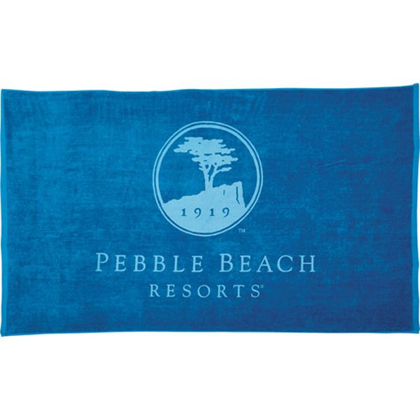 Style your customers with comfort. This heavyweight colored beach towel is made from the finest cotton. The terry velour makes this the softest towel ever. It is sure to provide you with the best coverage whether at the beach, on vacation, or at your home. These towels come in bulk 18lb dozen. They're perfect for giveaways, retail sale, the beach, or even a barbeque. Don't leave your customers soaking wet this summer, order these towels today.