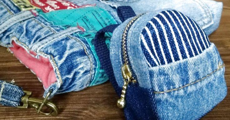 先日、子供のジーンズをリメイクしてバッグポーチを作りました。 外側にポケットが付いていますが、中にはポケットがないので、細々したものを入れるミニミニポーチが欲しいなぁ… せっかくなら可愛いものを、とリュック型のミニミニポーチを作ってみました。 小さいので、縫うところも少なく、ホントに簡単♪ 手縫いでも作れます(^_^) 急に思い立ったので、材料は全て自宅にあったもの。 ちょこっとずつのはぎれを利用して作れます。 先日リメイクに使用したジーンズの残りと、以前に子供のバッグを作った残りの端切れを使用しました! https://kurashinista.jp/articles/detail/44154