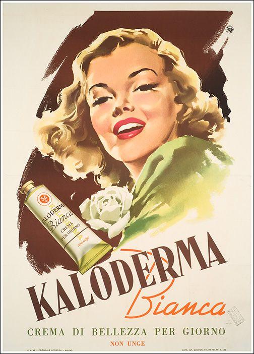 ✔️ Kaloderma Bianca - Crema di bellezza - 1953