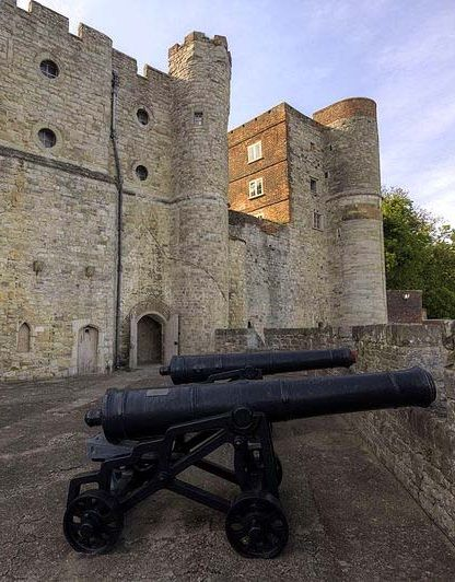 Upnor Castle, an Elizabethan artillery fort in Kent, England.  This is the only castle Queen Elizabeth I ordered to be built during her long reign.