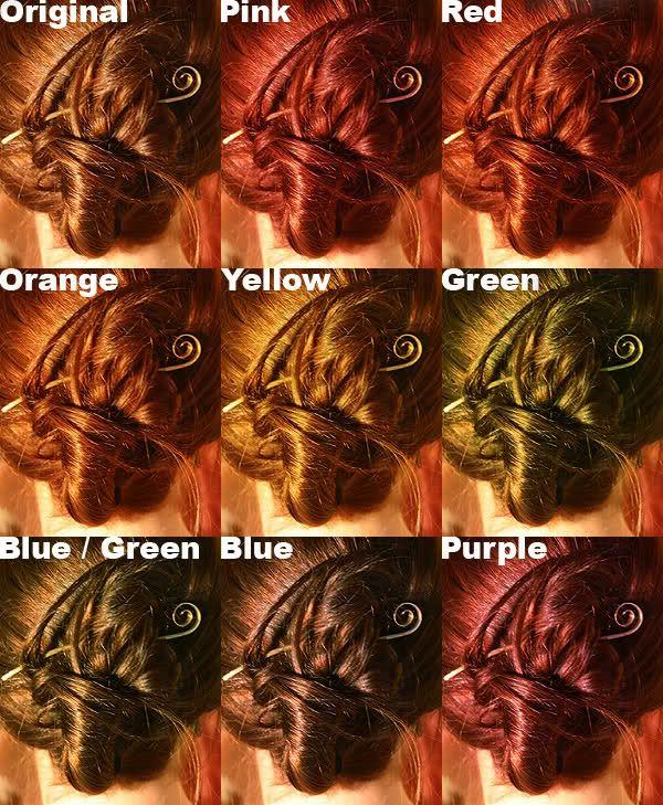 Kool Aid on brunette hair.   Hair & Beauty   Pinterest