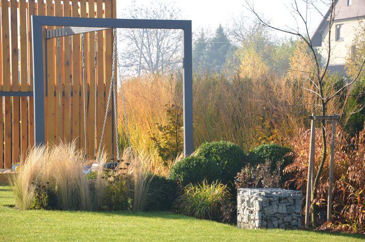 grass ornamental modern garden malkul landscape