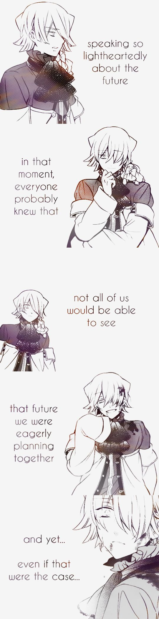 Rip my heart right out of my chest~ This series fucked me up~ I didn't even realise I had all these emotions~