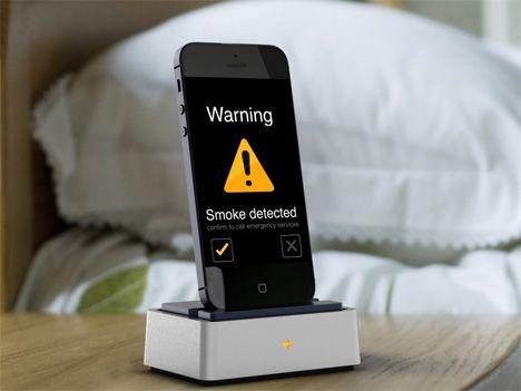 ¿Te interesaría una app para móvil que detecta humo y monóxido de carbono?