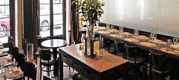 Mon Vieil Ami, Paris - restaurant with 100% legumes menu