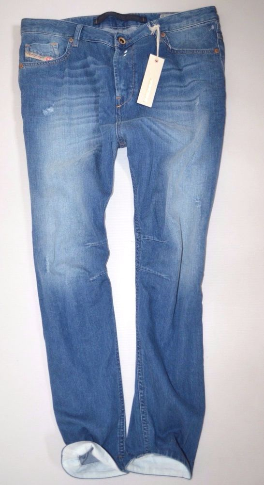 NEW ladies DIESEL EAZEE 0830W low Boyfriend JEAN woman W29 L32 size 12  as fayza
