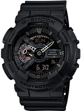 G-Shock GA-110MB base on GA-110 series with stealthy appearance that look great in combination.