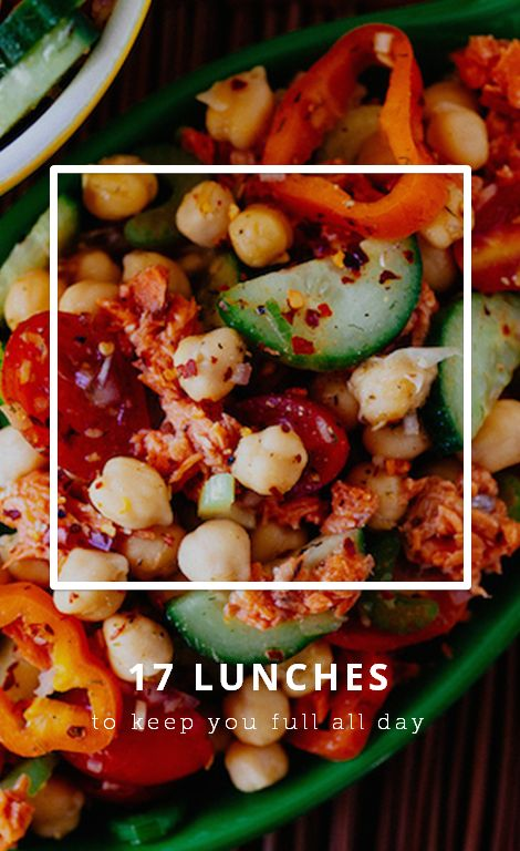17 lunch recipes that'll keep you full all day long.