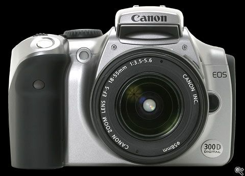 Canon EOS 300D / Digital Rebel / Kiss Digital Review: Page 1. Introduction: Digital Photography Review  Dad camera