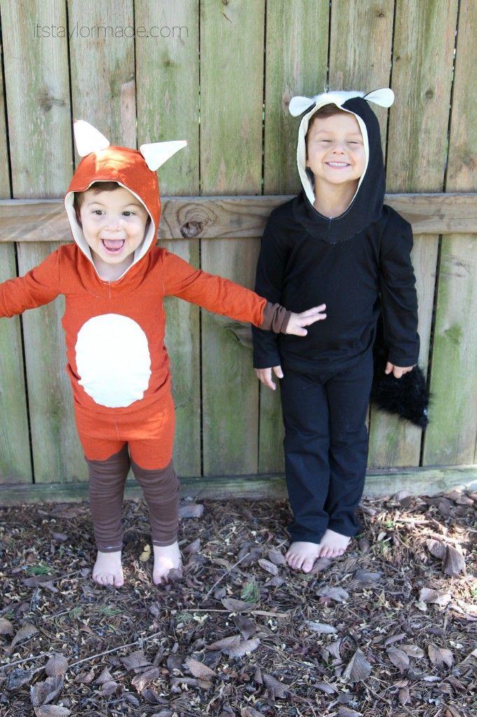 fox costume, fox costume for kids, fox costume for boys, fox costume DIY, bimaa sweater pattern, DIY hoodie, fancy pants leggings, what does the fox say