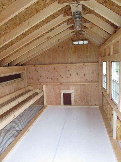 #chickencoopideas | Large chicken coop plans, Backyard ...
