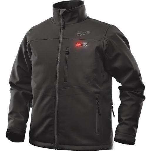 Milwaukee Elec.Tool Lrg Black Heated Jacket 201B-21L Unit: Each (fleece, check)