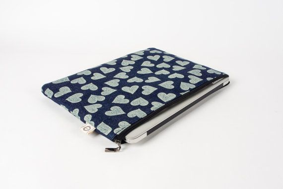 Hey, I found this really awesome Etsy listing at https://www.etsy.com/listing/263289939/heart-patten-notebook-sleeve-13-macbook
