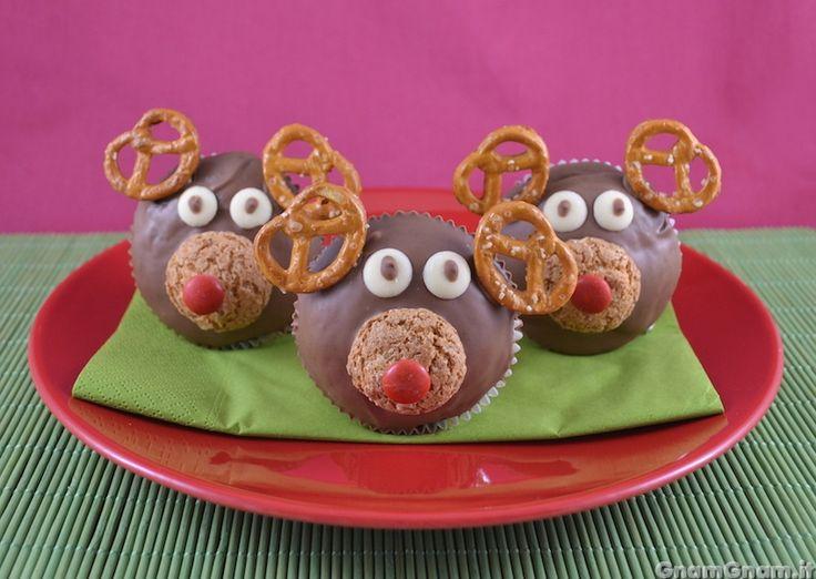 Scopri la ricetta di: Cupcake renna