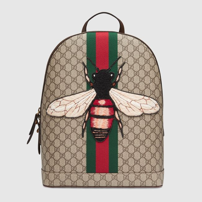 2db2d8f371c6 Web Animalier backpack with bee by GUCCI - oh, a girl can dream! |  accessories | Bags, Men's Backpack, Gucci handbags