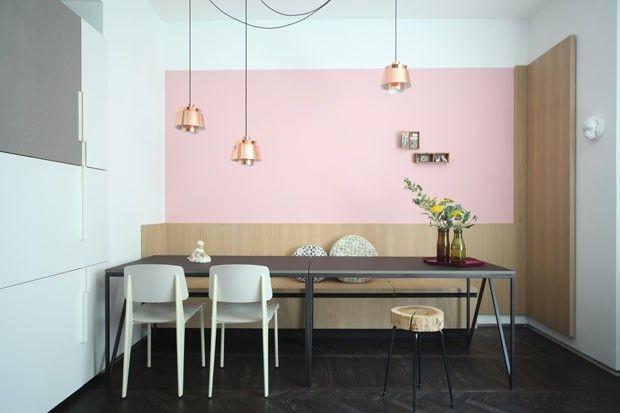 Formas geométricas e cores suaves delimitam apartamento (Foto: Carola Ripamonti/Divulgação)