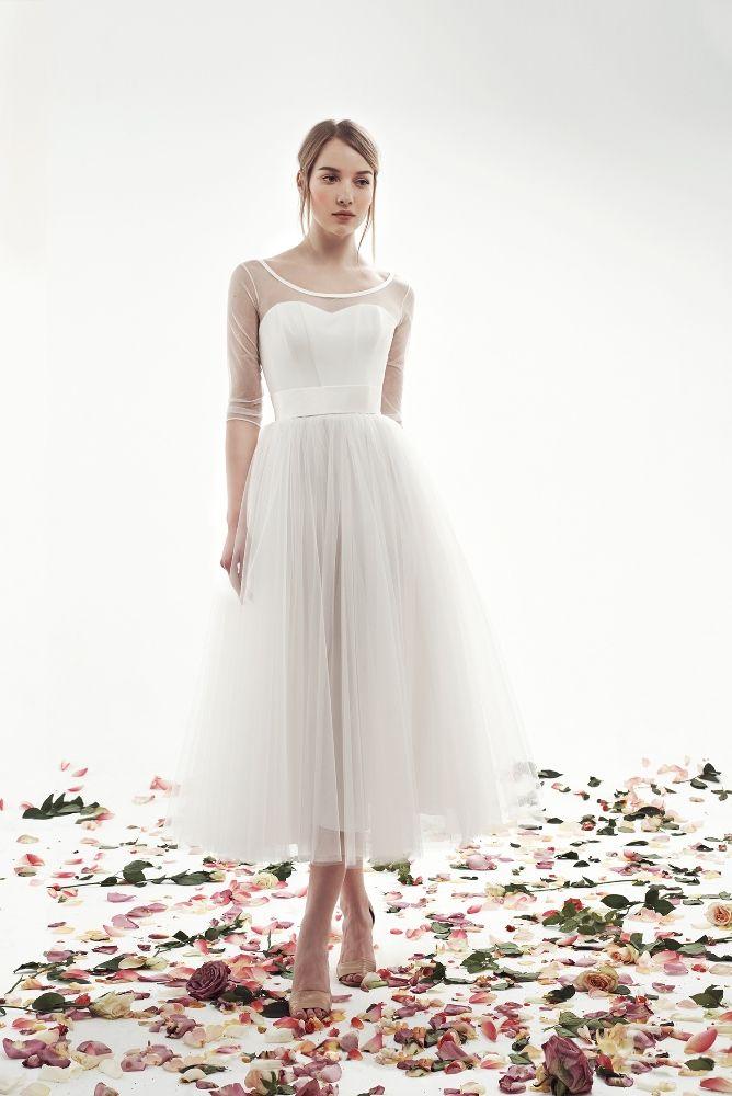 Закрытые и кружевные свадебные платья | Свадебные платья с рукавами