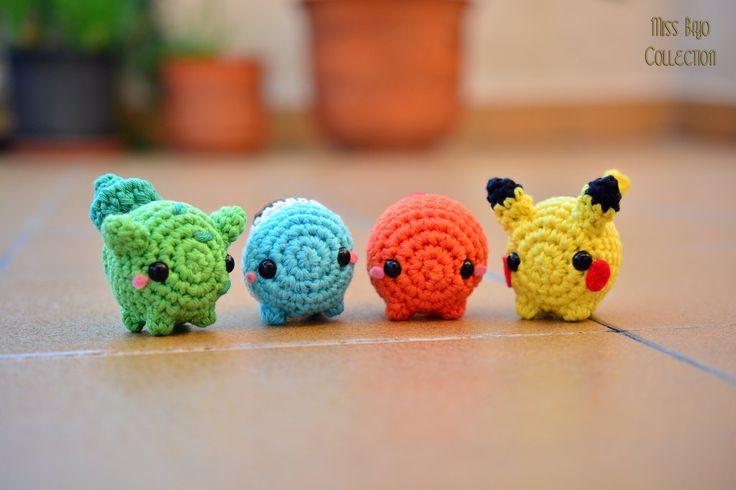 Pokemon starters by MissBajoCollection.deviantart.com on @DeviantArt