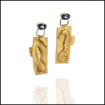 Linda Kindler Priest - Sea Horse Earrings