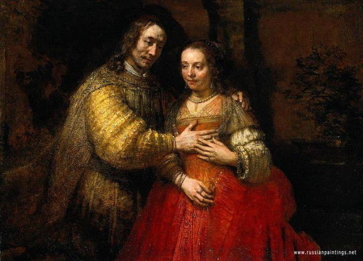 Rembrandt ~ The Jewish Bride 1665