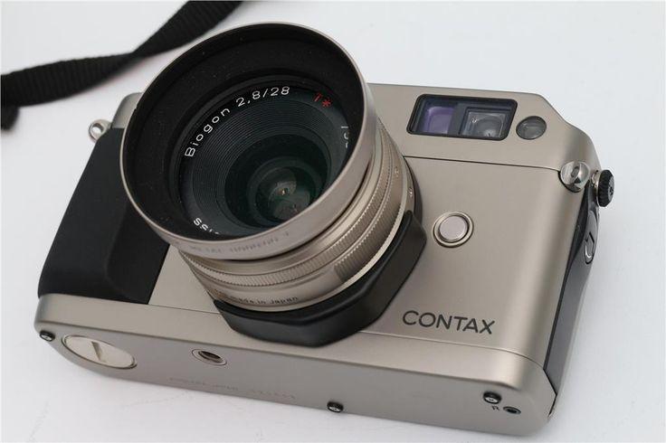 Contax G1 med Carl Zeiss Biogon 28mm 1:2.8 T* Objektiv på Tradera.com -