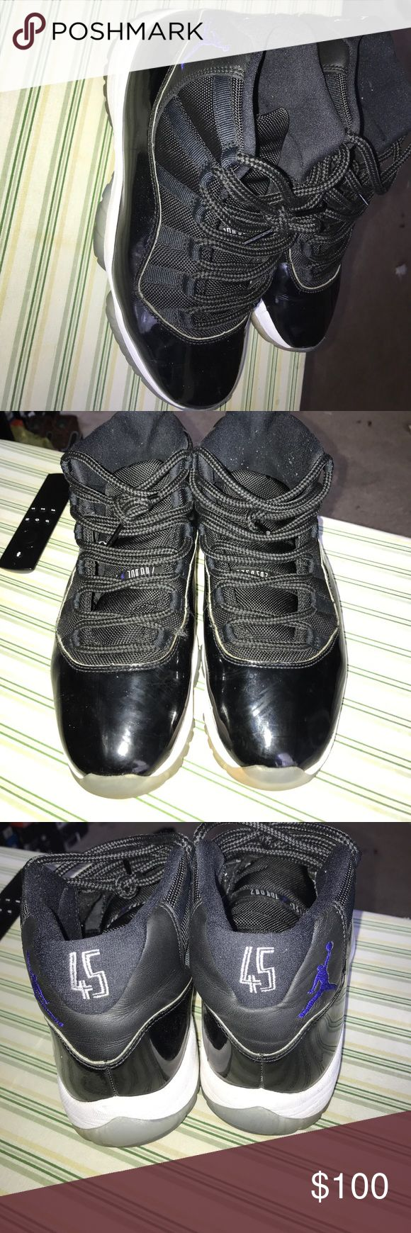 Jordan Retro 11 Space Jams 2016 Worn , renewable , 7/10 condition Jordan Shoes Sneakers