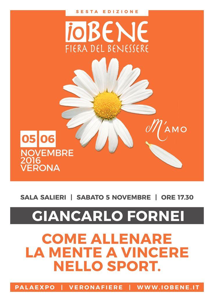 #ALLENAMENTO MENTALE nello SPORT - Verona 5 novembre 2016 - seminario di allenamento mentale nello sport con il coach motivazionale Giancarlo Fornei