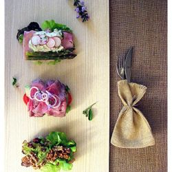 Smørrebrød med Kød - Panino Aperto Danese con Carne #recipes #snacks #foodphotography #creativefood