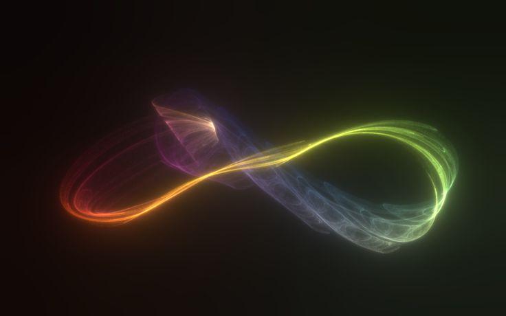 Infinity : Download Blue Infinity Logo Wallpaper ...