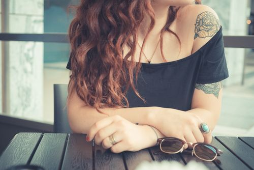 Tips on using Jolen Creme Bleach for hair management if you have arm/body tattoos. #GoConfidently Women's Body & Facial Hair Expert: Ask Evelyn   Jolen