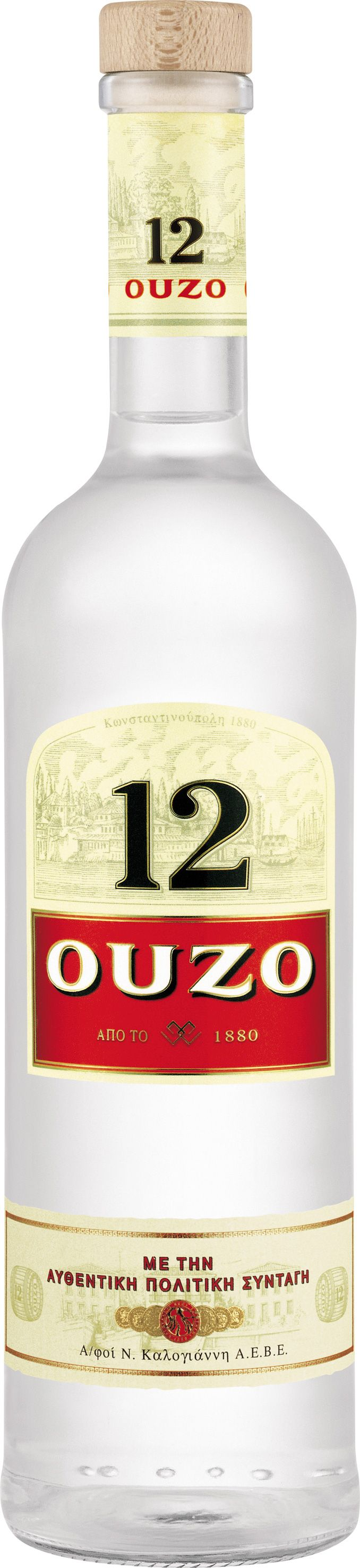 ~Ouzo 12 1 litre | The House of Beccaria