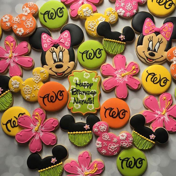 Minnie Mouse Hawaiian Set