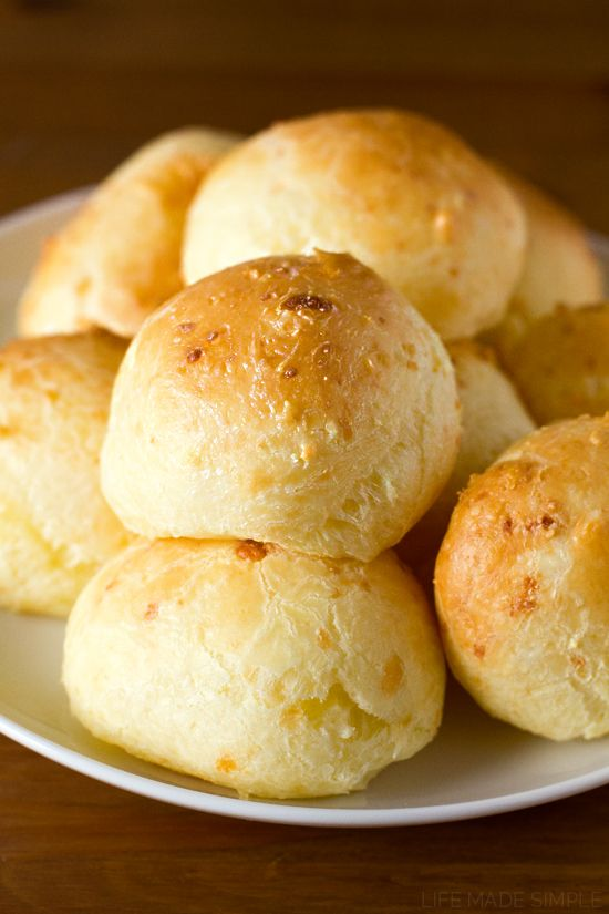 This simple and gluten-free recipe for pão de queijo (also known as Brazilian cheese bread) will be your new best friend! With crisp exteriors and gooey cheesy interiors, you just can't go wrong!
