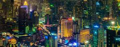 One night in Bangkok ... | Bangkok at night, view from the B… | Flickr