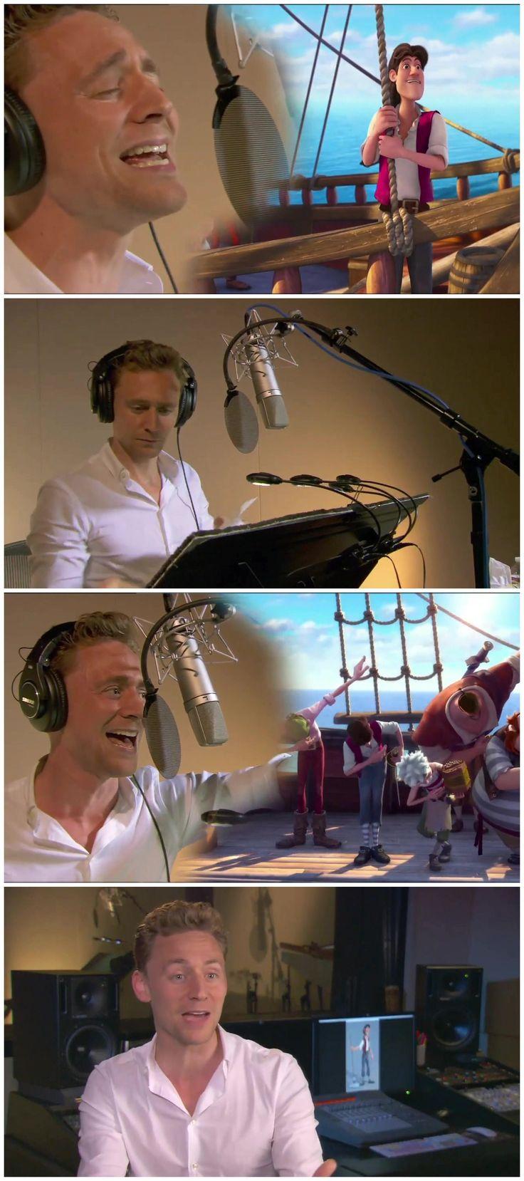 Tom Hiddleston sings like a pirate (by Disney Fairies) [HD 1080P]