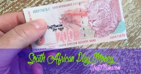 ZAR Play Money Free Printable for Checkers Mini Groceries