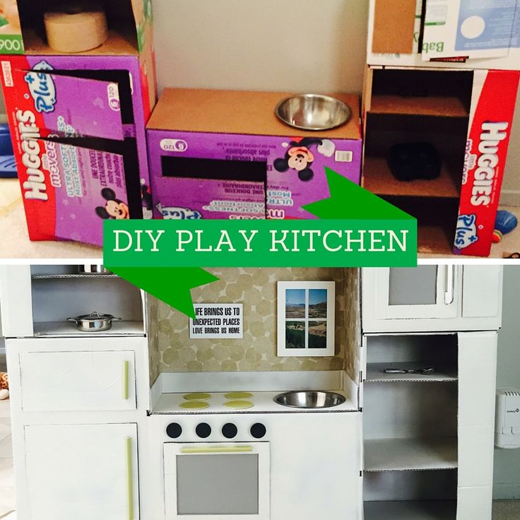 I M Dreaming Of A Diy Play Kitchen: 25+ Best Ideas About Cardboard Kitchen On Pinterest