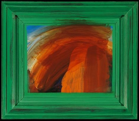 Howard Hodgkin, After Degas on ArtStack #howard-hodgkin #art
