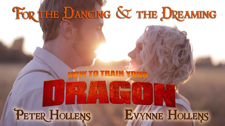 For the Dancing and the Dreaming - How to Train Your Dragon 2 - Peter Hollens <--- YES!  Finally he did something HTTYD related!!!  I LOVE this so much!