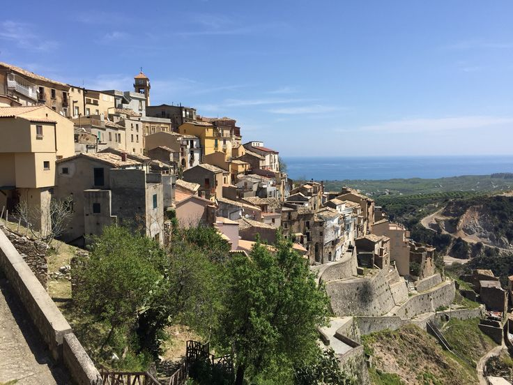 Badolato - medieval village I. Calabria