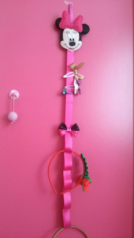 Minnie Mouse Hairclips holder