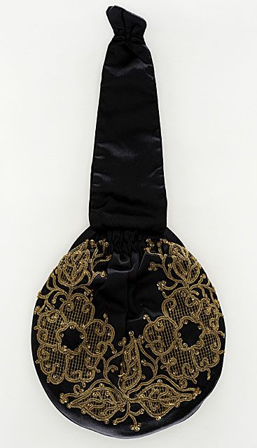 Black and Gold Handbag, 1930.