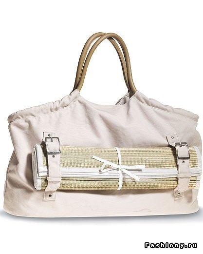 Модные пляжные сумки, лето 2009 / пляжные сумки своими руками