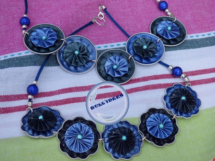 nespresso collier bleu