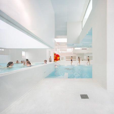 Superb Les Bains Des Docks Is An Aquatic Centre In Le Havre, France, Designed By  French Architect Jean Nouvel.