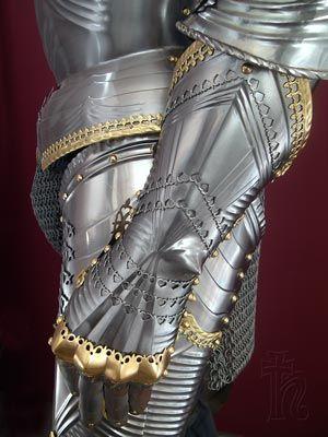 German Gothic armour.