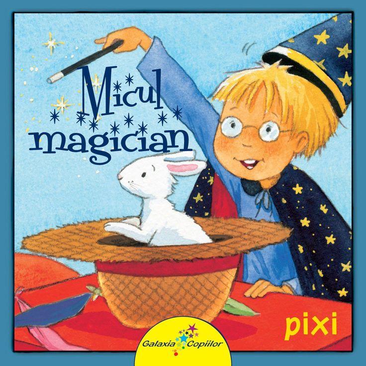 """Simone Nettingsmeier                              - Micul Magician -Simone Nettingsmeier; ilustratii: Kerstin M. Schuld; Varsta: 2-5 ani; Micul Magician, prezinta joaca lui Paul, un baietel obisnuit cu multa imaginatie ce """"transforma"""" orice obiect casnic intr-unul magic."""