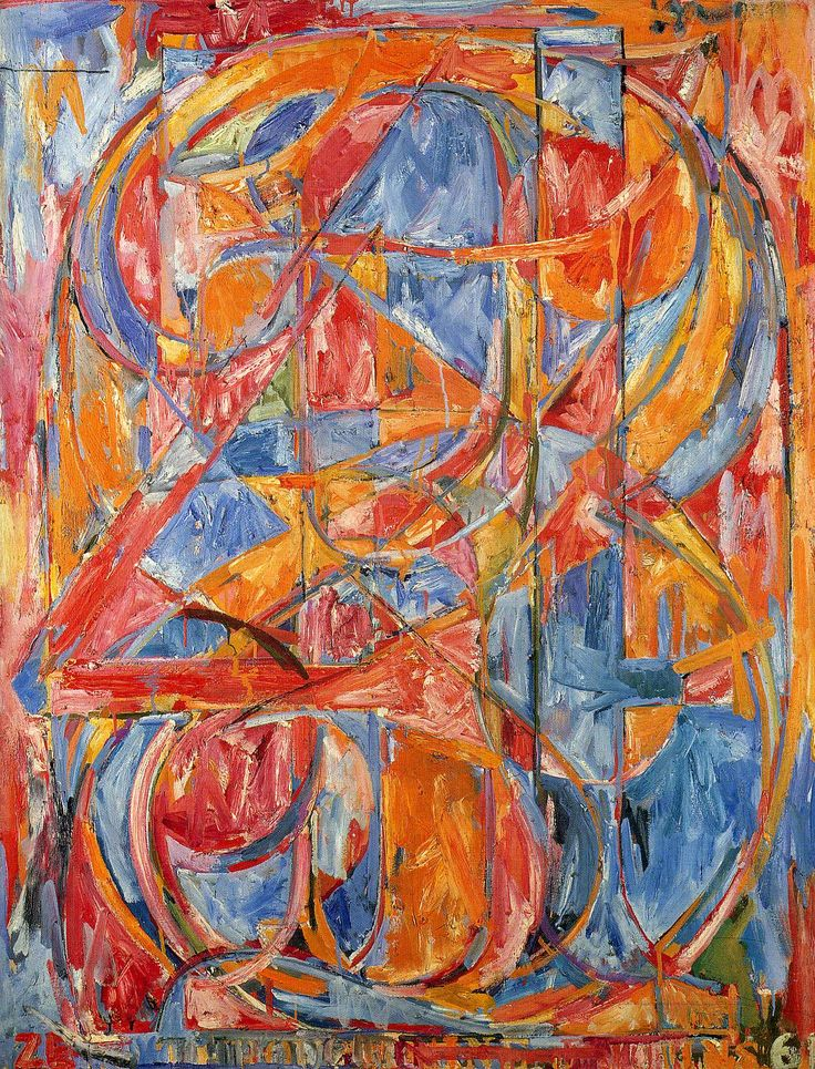 FunMozar – Famous Paintings of Jasper Johns